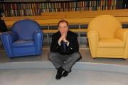 Roma 12/12/09 Prima puntata della trasmissione Elisir, nella foto Michele Mirabella