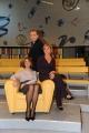 Roma 12/12/09 Prima puntata della trasmissione Elisir, nella foto la dottoressa Patrizia Schisa, Michele Mirabella e la nuova dottoressa Daniela Livadiotti