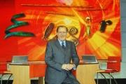 10/11/07 Nuova stagione della trasmissione di raitre Elisir nelle foto Michele Mirabella,
