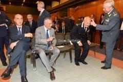 18/07/2016 Roma presntazione del documentario PAOLO BORSELLINO ESSENDO STATO, rai, nella foto : Legnini e Roberti