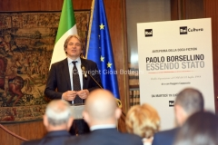 18/07/2016 Roma presntazione del documentario PAOLO BORSELLINO ESSENDO STATO, rai, nella foto : Direttore Generale della Rai Antonio Campo Dall'Orto