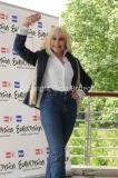 4/05/2011 Roma, presentazione di Eurovision Raidue, nella foto: Raffaella Carrà