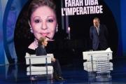 Foto/IPP/Gioia Botteghi 26/09/2018 Roma, Una imperatrice a porta a porta ospite Farah Diba  Italy Photo Press - World Copyright