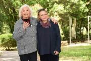Foto/IPP/Gioia Botteghi Roma 24/05/2021 Photocall del film Fellinopolis, nella foto: Liana Orfei e la regista Silvia Giulietti Italy Photo Press - World Copyright