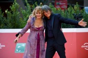 Foto/IPP/Gioia Botteghi Roma 23/10/2020 Festa del cinema di Roma Red Carpet  del film , nella foto:    Antonella Ponziani e Fabio Schifino Italy Photo Press - World Copyright