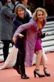 Foto/IPP/Gioia Botteghi Roma 23/10/2020 Festa del cinema di Roma Red Carpet  del film , nella foto:    Antonella Ponziani e Fabio Schifino Italy Photo Press - World Copyright