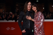 Foto/IPP/Gioia BotteghiRoma23/10/2018 Festa del cinema di Roma 2018, red carpet  nella foto : Manuel Agnelli con Asia ArgentoItaly Photo Press - World Copyright