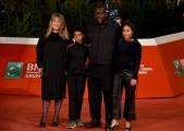 Foto/IPP/Gioia BotteghiRoma 15/10/2020  ff15 red carpet, nella foto: il regista Steve  mcQueen con tutta la famigliaItaly Photo Press - World Copyright