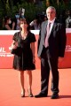 Foto/IPP/Gioia BotteghiRoma 19/10/2020 Festa del cinema di Roma Red Carpet  , nella foto: Angelo e Paola BorrelliItaly Photo Press - World Copyright