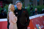 Foto/IPP/Gioia Botteghi Roma 21/10/2020 Festa del cinema di Roma Red Carpet del film Maledetta primavera , nella foto: Andrea Roncato e Nicole Moscariello Italy Photo Press - World Copyright