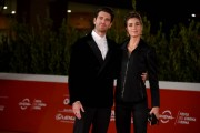 Foto/IPP/Gioia Botteghi Roma 21/10/2020 Festa del cinema di Roma Red Carpet del film Maledetta primavera , nella foto:   Giampaolo Morelli e Gloria Bellicchi Italy Photo Press - World Copyright