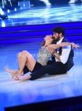 23/04/2016 Roma finale di ballando con le stelle, Michele Morrone e Ekaterina Vaganova secondi classificati