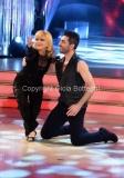 23/04/2016 Roma finale di ballando con le stelle, Rita Pavone con Simone Di Pasquale