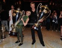 30/04/2011 serata finale di BALLANDO CON LE STELLE, nella foto: Kaspar Capparoni e Yulia Musikhina