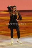 21/03/2015 Roma finale di Notti sul ghiaccio, nella foto Barbara De Rossi
