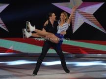 21/03/2015 Roma finale di Notti sul ghiaccio, nella foto Clara Alonso e Marco Garavaglia