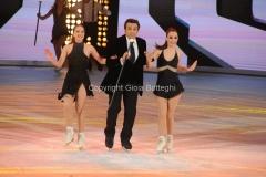 21/03/2015 Roma finale di Notti sul ghiaccio, nella foto Flavio Insinna