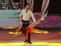 21/03/2015 Roma finale di Notti sul ghiaccio, nella foto Chiara Mastalli e Federico Uslenghi