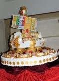 6/01/2012 Roma serata finale della lotteria Italia LA PROVA DEL CUOCO, nella foto: la torta