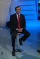 Gianfranco Fini ospite di uno mattina intervistato da Luca Giurato