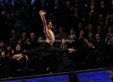 05/12/2011 Roma, Quarta puntata del programma di Fiorello , nella foto con Roberto Bolle