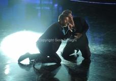 05/12/2011 Roma, Quarta puntata del programma di Fiorello , nella foto con Jovanotti