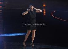 05/12/2011 Roma, Quarta puntata del programma di Fiorello , nella foto con Malika Ayane