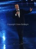 05/12/2011 Roma, Quarta puntata del programma di Fiorello , nella foto con Benigni
