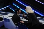 20/02/2015 Roma puntata di forte forte forte , Asia Argento con Raffaella Carrà