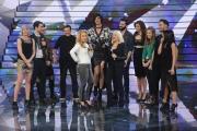 20/02/2015 Roma puntata di forte forte forte ospite Anastacia con Raffaella Carrà con tutti i ragazzi partecipanti