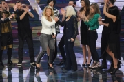 20/02/2015 Roma puntata di forte forte forte ospite Anastacia con Raffaella Carrà