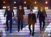 20/02/2015 Roma puntata di forte forte forte ospite Morgan De Sanctis, Leandro Paredes, Rudi Garcia, Antonio Sanabria
