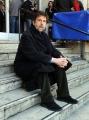 foto/IPP/Gioia Botteghi 29/02/2012 Roma,  presentazione del film Cesare deve morire, premiato a Berlino, nella foto  Nanni Moretti
