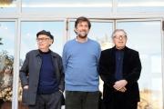foto/IPP/Gioia Botteghi 29/02/2012 Roma,  presentazione del film Cesare deve morire, premiato a Berlino, nella foto i fratelli Taviani e Nanni Moretti che li ha ospitati nel suo cinema per la conf. stampa
