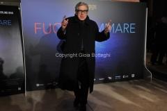 03/03/2016 Roma Serata di presentazione Rai, del film Fuocoammare che ha vinto il festival di Berlino, nella foto Paolo Taviani