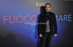 03/03/2016 Roma Serata di presentazione Rai, del film Fuocoammare che ha vinto il festival di Berlino, nella foto Beppe Fiorello