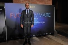 03/03/2016 Roma Serata di presentazione Rai, del film Fuocoammare che ha vinto il festival di Berlino, nella foto il mistro Angelino Alfano