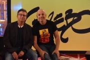 Foto/IPP/Gioia Botteghi 19/09/2016 Roma conferenza stampa per la presentazione di Gazebo , rai tre, nellafoto: Diego Bianchi, Andrea Salerno