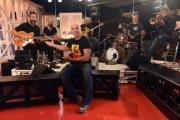 Foto/IPP/Gioia Botteghi 19/09/2016 Roma conferenza stampa per la presentazione di Gazebo , rai tre, nellafoto: Roberto Angelini e Marco D'Ambrosio e la rolo Band con Diego Bianchi