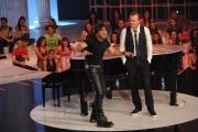 Roma 04/03/2010 Prima puntata di_ Gigi, Questo sono io, condotto da Gigi D'Alessio con Carmine Farago