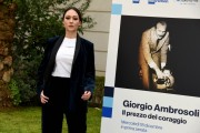 Foto/IPP/Gioia Botteghi Roma16/12/2019 presentazione del Docu fiction Giorgio Ambrosoli, nella foto Dajana Roncione, photocall all'interno della Banca d'Italia Italy Photo Press - World Copyright