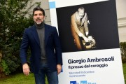 Foto/IPP/Gioia Botteghi Roma16/12/2019 presentazione del Docu fiction Giorgio Ambrosoli, nella foto Claudio Castrogiovanni, photocall all'interno della Banca d'Italia Italy Photo Press - World Copyright