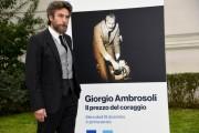 Foto/IPP/Gioia Botteghi Roma16/12/2019 presentazione del Docu fiction Giorgio Ambrosoli, nella foto Alessio Boni photocall all'interno della Banca d'Italia Italy Photo Press - World Copyright