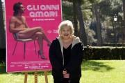 Foto/IPP/Gioia Botteghi Roma 05/03/2020 Presentazione del film Gli anni amari ( la storia di Mario Mieli ), nella foto: Grazia Verasani, nel ruolo di Fernanda Pivano Italy Photo Press - World Copyright