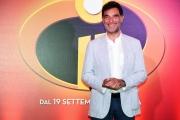 Foto/IPP/Gioia Botteghi 12/07/2018 Roma, presentazione del film Gli incredibili 2, nella foto Tiberio Timperi  Italy Photo Press - World Copyright