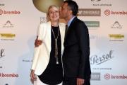Foto/IPP/Gioia Botteghi09/06/2016 Roma  Premiazione dei globi d oro all ambasciata di Francia , nella foto: Ivan Cotroneo e Monica Rametta