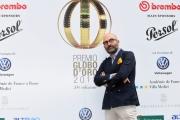 Foto/IPP/Gioia Botteghi 13/06/2018 Roma, Photocall Globi d'oro, nella foto: Donato Carrisi  Italy Photo Press - World Copyright