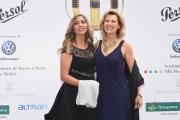 Foto/IPP/Gioia Botteghi 13/06/2018 Roma, Photocall Globi d'oro, nella foto:   Daniela Poggi con la figlia  Italy Photo Press - World Copyright