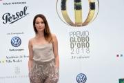 Foto/IPP/Gioia Botteghi 13/06/2018 Roma, Photocall Globi d'oro, nella foto: Cristiana Capotondi  Italy Photo Press - World Copyright