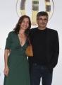 Foto/IPP/Gioia Botteghi 13/06/2018 Roma, Photocall Globi d'oro, nella foto: Paolo Genovese e signora  Italy Photo Press - World Copyright
